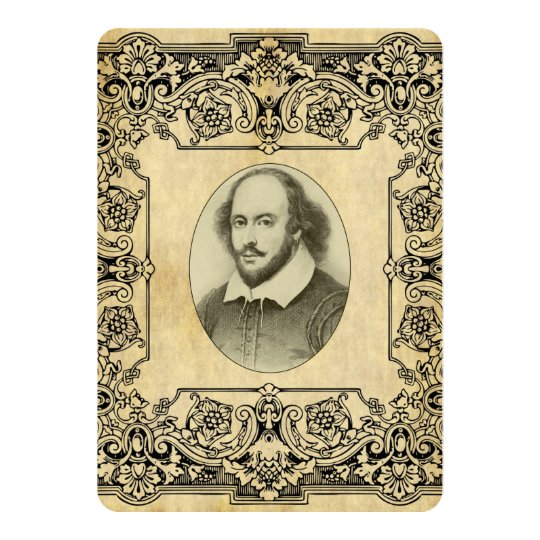 Shakespeare Wedding Invitation