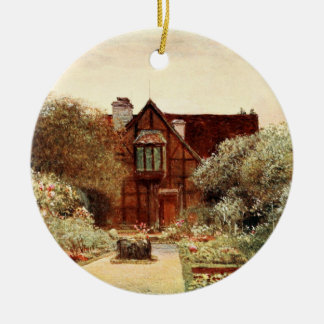 Shakespeare's Birthplace II, Stratford-upon-Avon Ceramic Ornament