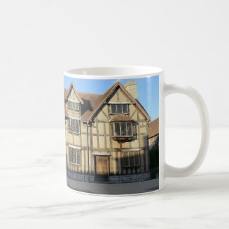 Shakespeare's Birthplace in Stratford Upon Avon Classic White Coffee Mug