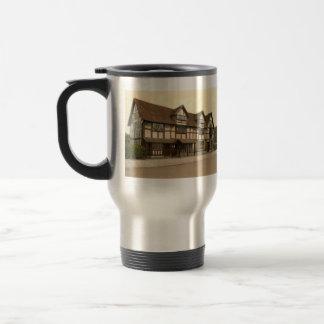 Shakespeare's Birthplace, Stratford-upon-Avon, UK 15 Oz Stainless Steel Travel Mug
