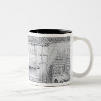 Shakespeare's Birthplace Two-Tone Coffee Mug