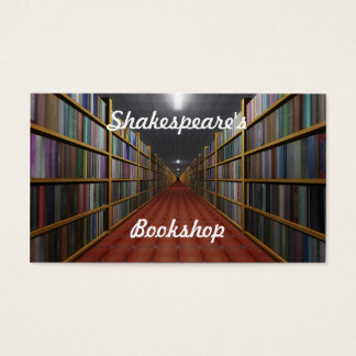 Shakespeare's Bookshop Business Card
