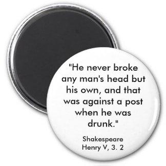 Shakespeare's Insult Magnet