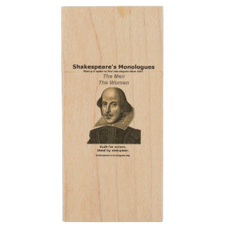 Shakespeare's Monologues USB Flash Drive