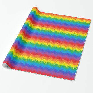 Shaking Rainbow Wrapping Paper