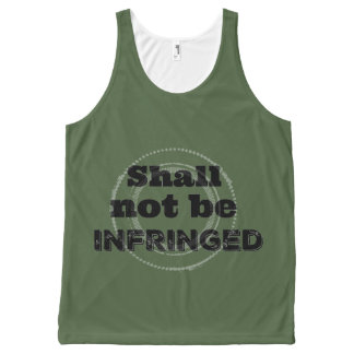 Shall Not Be Infringed - Patriot Pride All-Over-Print Tank Top