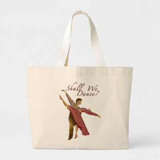 Shall We Dance? Large Tote Bag