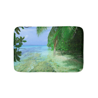 Shallow Tropical Sea Bath Mat