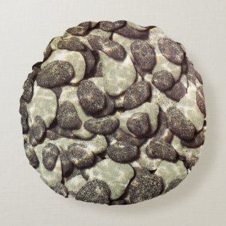 Shallow Waters Round Pillow