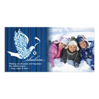 Shalom Dove Horizontal Card