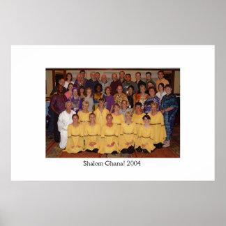 Shalom Ghana 2004! Team Photo Poster