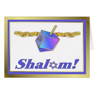 Shalom Hanukkah Card