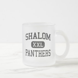Shalom - Panthers - High - Milwaukee Wisconsin Frosted Glass Coffee Mug