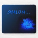 SHALOM... Religious mousepad