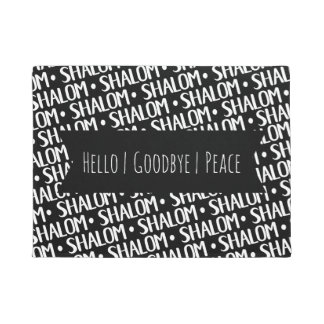 Shalom Repeat Pattern Doormat