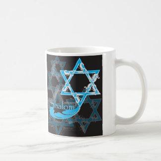 Shalom Star of David Mug