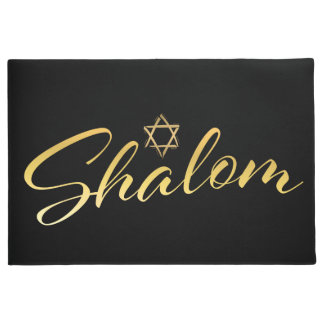 Shalom Welcome Door Mat
