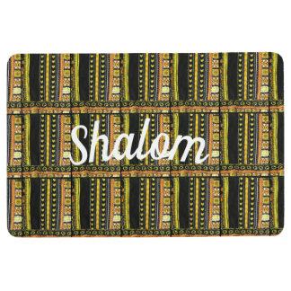 shalom welcome matt floor mat
