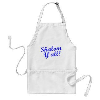 Shalom Y'all! Standard Apron