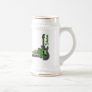 Sham Rock. St. Patrick's Day Gift  Beer Mug Mugs