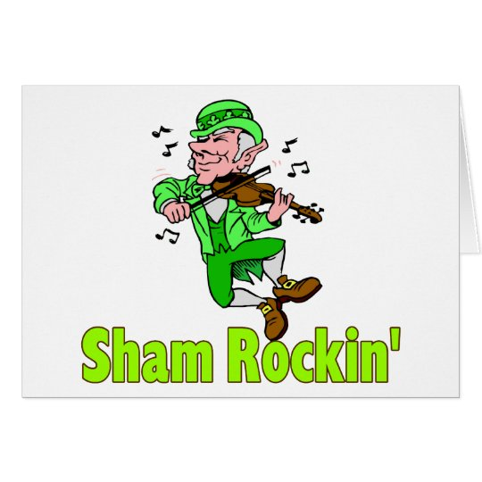 Sham Rockin Card