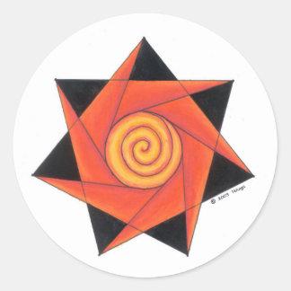 Shaman Classic Round Sticker
