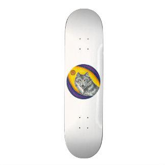 Shaman Healing Wolf Skateboard Decks