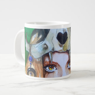 shaman large coffee mug