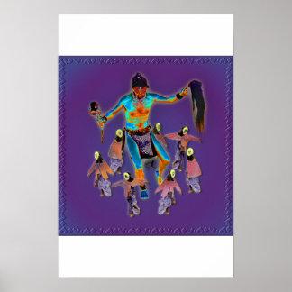 Shaman & Maidens Poster