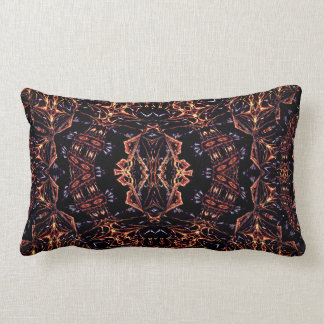 Shaman Mind Abstract Art Throw Cushion