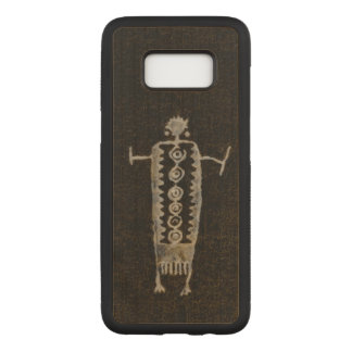 Shaman Petroglyph Carved Samsung Galaxy S8 Case