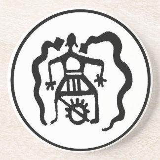 Shaman & the Ancestral Spirit Guides Beverage Coaster