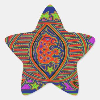 Shaman Turtle Spirit Star Sticker