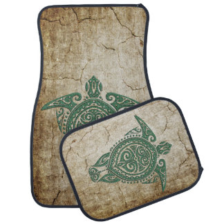 Shamanic Sea Turtle Symbol + your ideas Auto Mat