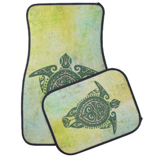 Shamanic Sea Turtle Symbol + your ideas Car Carpet
