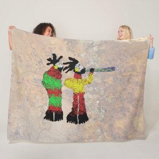 Shamans Apprentice Fleece Blanket