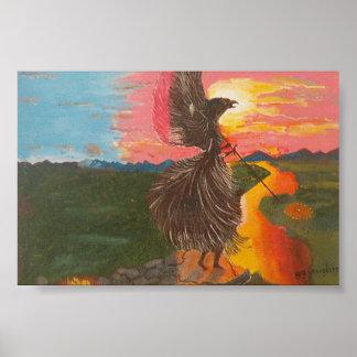 Shamans Eagle Spirit Poster