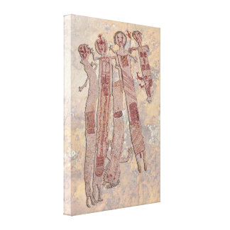 Shamans Quest Canvas Print