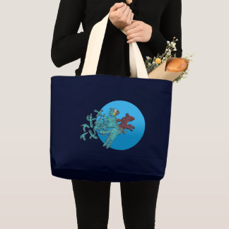 Shamans Quest Large Tote Bag