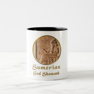 shamash Two-Tone coffee mug