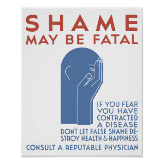 Shame May Be Fatal -- WPA Poster