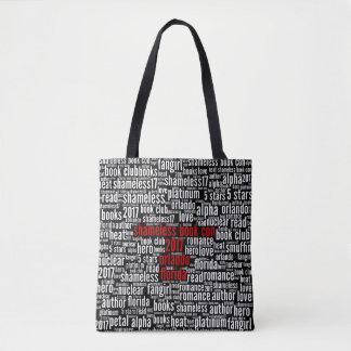 Shameless Book Con 2017 Word Cloud Tote Bag