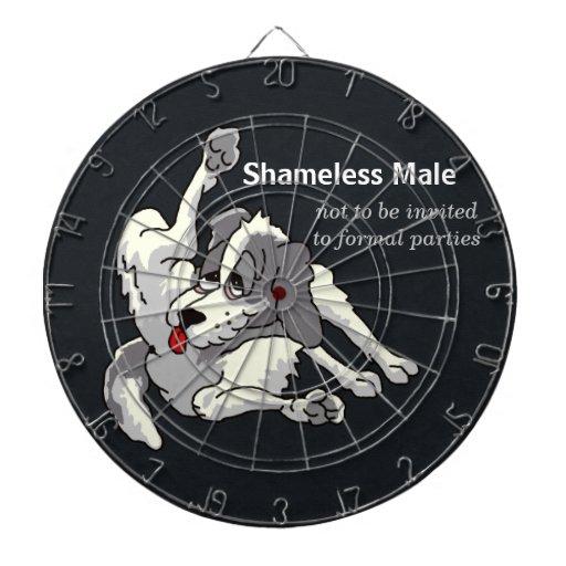 Shameless Male Dart Boards