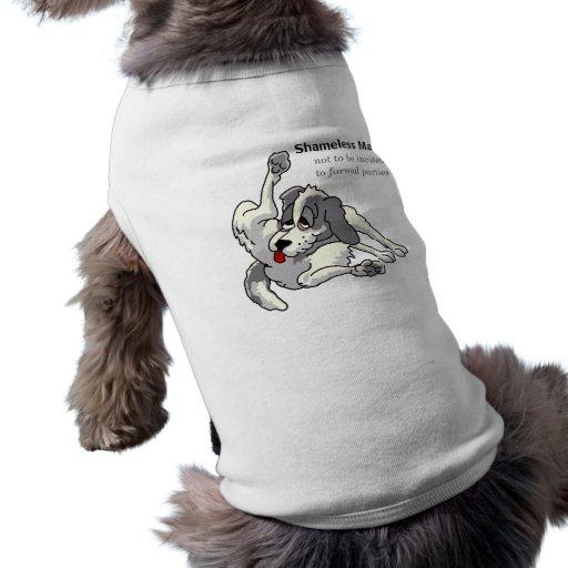Shameless Male Pet Shirt