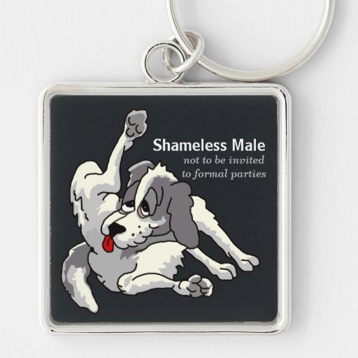 Shameless Male Key Chains