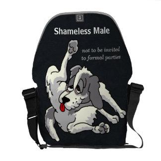 Shameless Male Messenger Bag