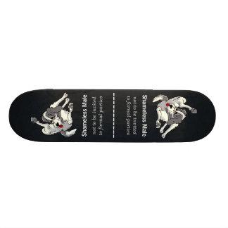 Shameless Male Skate Board