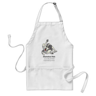 Shameless Male Standard Apron