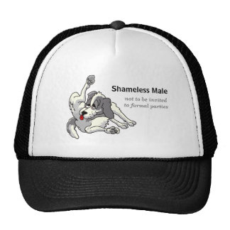 Shameless Male Trucker Hat