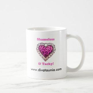 Shameless & Tacky, www.divataunia.com Classic White Coffee Mug